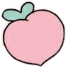 freetoedit fruit food peach pink