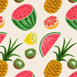 fruits watermelon🍉 pineapple🍍 lemons🍋 grapefruit freetoedit