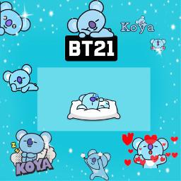 freetoedit koya bt21 bt21koya kimnamjoon