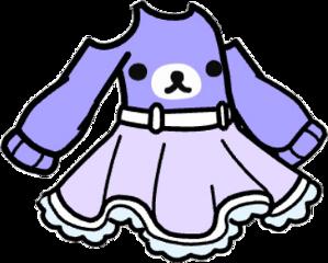 gacha gachalife aesthetic purple bear freetoedit