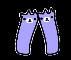 gacha gachalife purple bear freetoedit