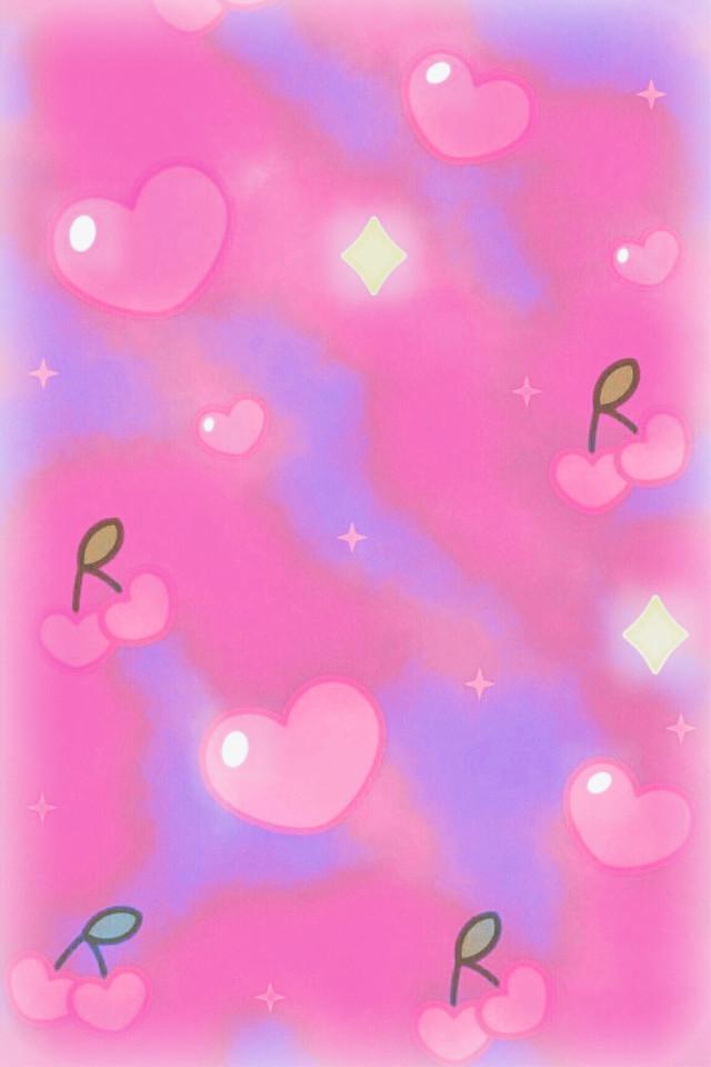 #freetoedit @mpink88 #glitter #sparkle #galaxy #hearts #love #cherries #fruit #kawaii #diamonds #vintage #pattern #cute #stars #background