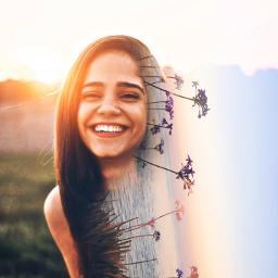 freetoedit replay picsartreplay myedit oldreplay doubleexposure girl surreal creative araceliss smile