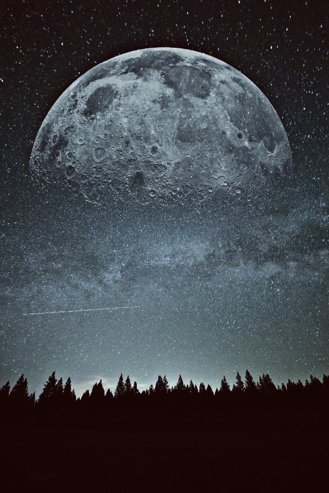 #freetoedit #picsart #moonlight #moon #edit