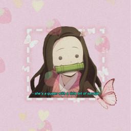 nezukokamado demonslayer animewallpaper anime freetoedit