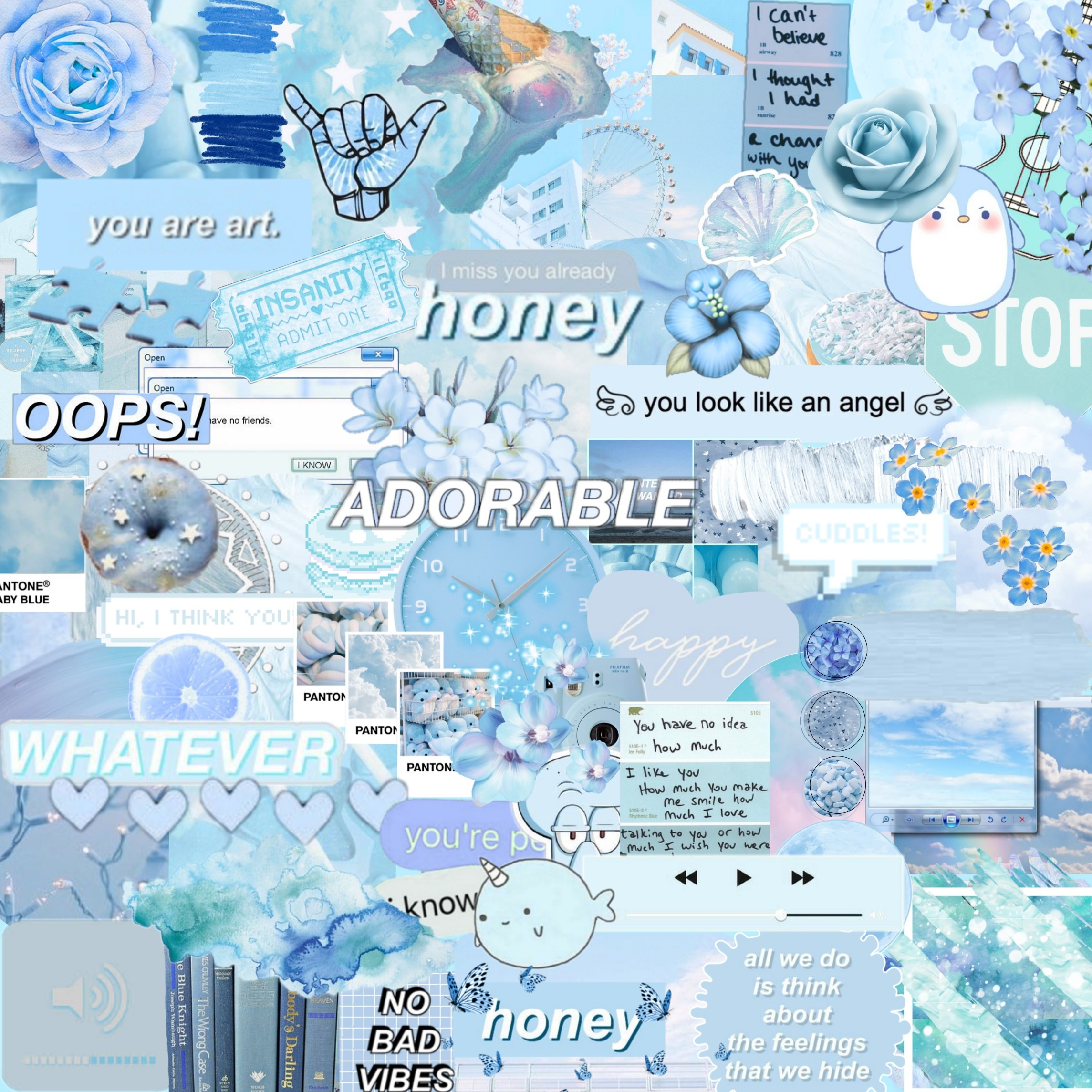 """Light blue background 💦If you use it give me credits 👀If you want to find more backgrounds give a look into my collection called """"Backgrounds"""" 🤫I use"""