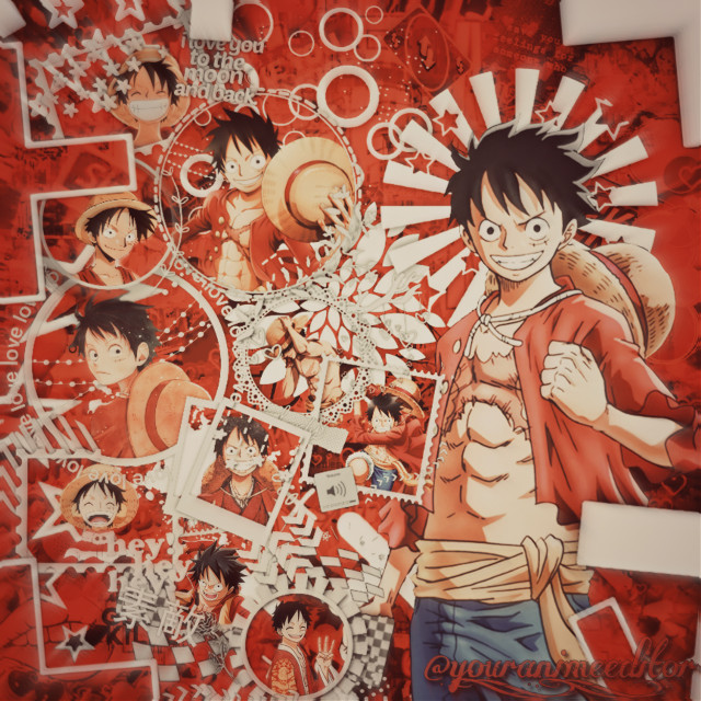 So I just finished binge watching the first 130 episodes of One Piece, and the show has been fantastic so far, so I'll probably end up making another 2 or 3 One Piece edits sooner or later. Anyways, here's my weekly post, hope y'all have a great day, and remember thag you're amazing!!!                #white #red #one #piece #onepiece #luffy #monkeydluffy #monkey #grey #aesthetic #overlay #frame #anime #keepsmiling  #freetoedit