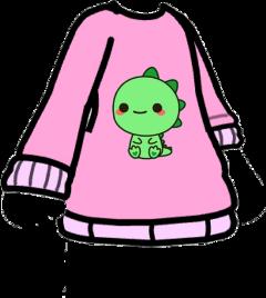 gacha gachalife dino dinosaur pink freetoedit