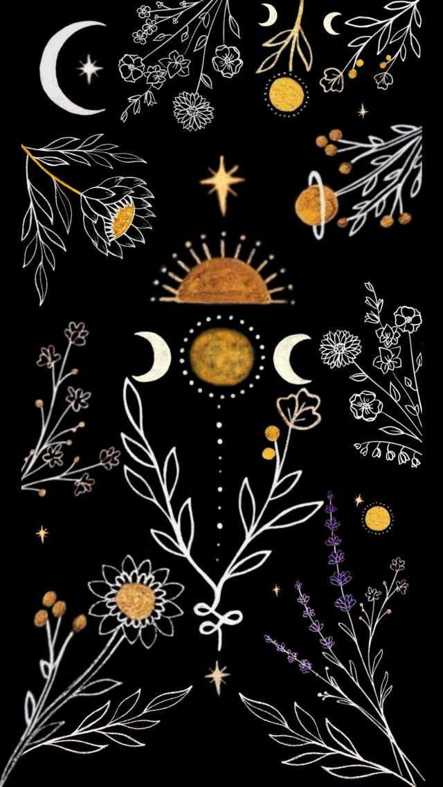 #flores  #freetoedit #flower #moon #luna #sol #soon #flowering #flor #floral #vintage