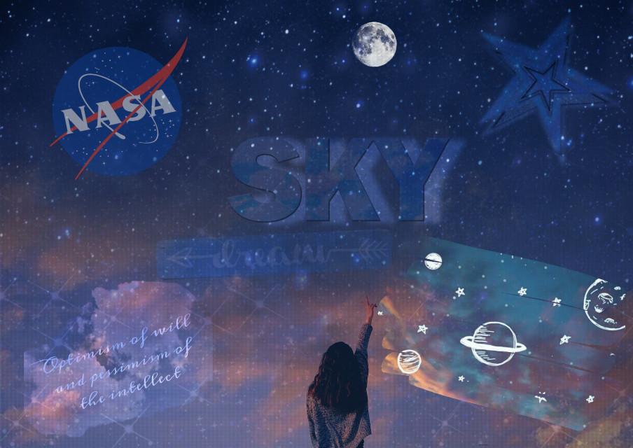 #freetoedit  #sky @picsartru @picsart  #nasa #cosmos #photostory #photography #photoshop #edit