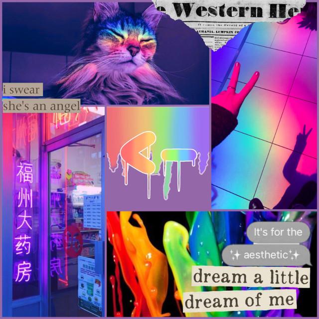 ☁️ 𝓼 𝓹 𝓪 𝓬 𝓮 𝓻 ☁️      #rainbow #rainboweffect #prisim #lighting #freetoedit