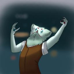 furry furryfandom joker furrified anthro