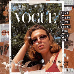 freetoedit milliebobbybrown vogue bby moveon