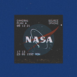 space nasa blue white red