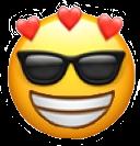 #freetoedit #emoji #emojiedits #sunglasses #heartemoji