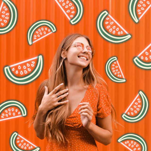 #freetoedit #summer #watermelon #neon #neonvibes #island #filters