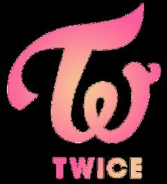 twice twicelogo sticker nayeon jeongyeon freetoedit