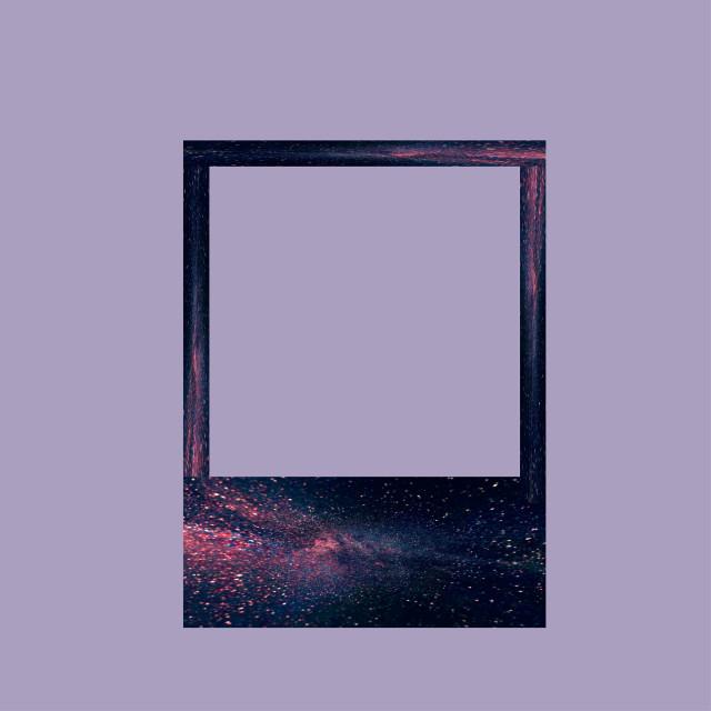 #freetoedit #polaroid #galaxy #frame