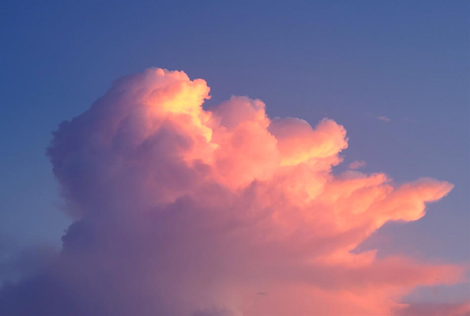 Tonight💗 #cloud #skywatching #pink  #freetoedit