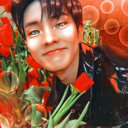 awhkpop_2kcontest changmin q theboyz red freetoedit