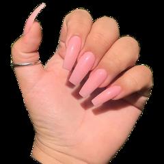 freetoedit nails hand pinknails