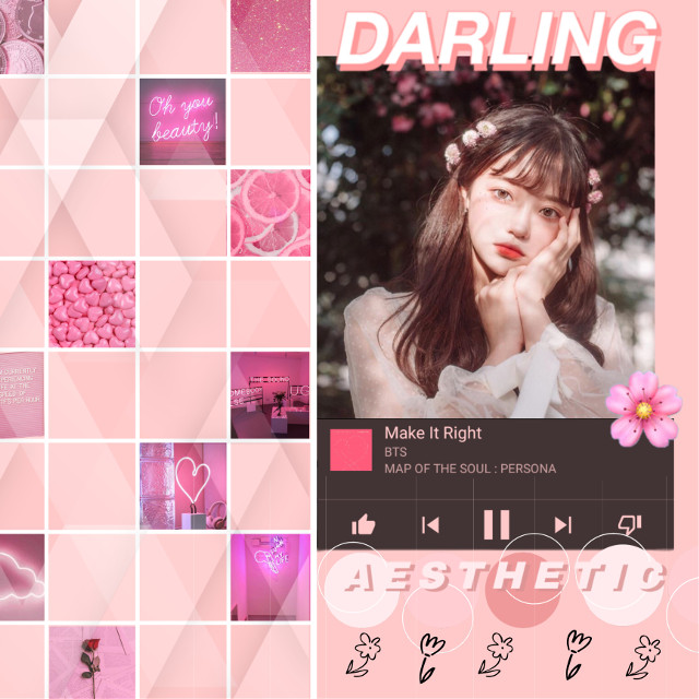 haven't done a freebee in a while! #pink #korean #ulzzang #blossom #aesthetic  #freetoedit
