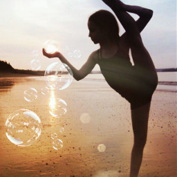 freetoedit annamcnulty flexible flexibility beach rcbubblebubble bubblebubble