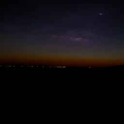 freetoedit sky trip galaxy sunset