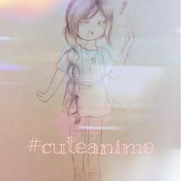 cuteanime sketchedit freetoedit