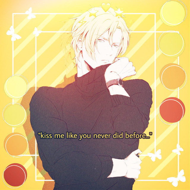 #freetoedit #ashlynx #bananafish #anime #animeboy #animeboyfreetoedit