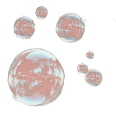 freetoedit aesthetic bubbles pink