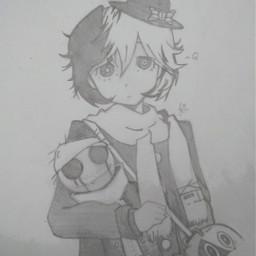 q yumeno boungoustraydogs anime drawing freetoedit