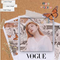 freetoedit aesthetic vogue flower butterfly