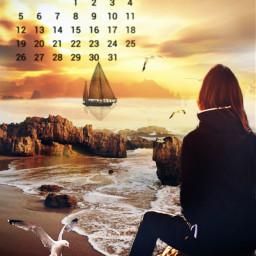freetoedit calender clipart sunset srcjulycalendar julycalendar