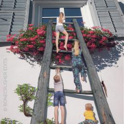 shrunken mykids ascension ladder