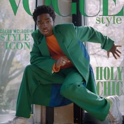 vogue magazine caleb calebmclaughlin strangerthings freetoedit