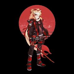 freetoedit rengoku kny kimetsunoyaiba anime animeboyfreetoedit