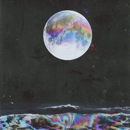 freetoedit surreal artisticedit moon psychedelic