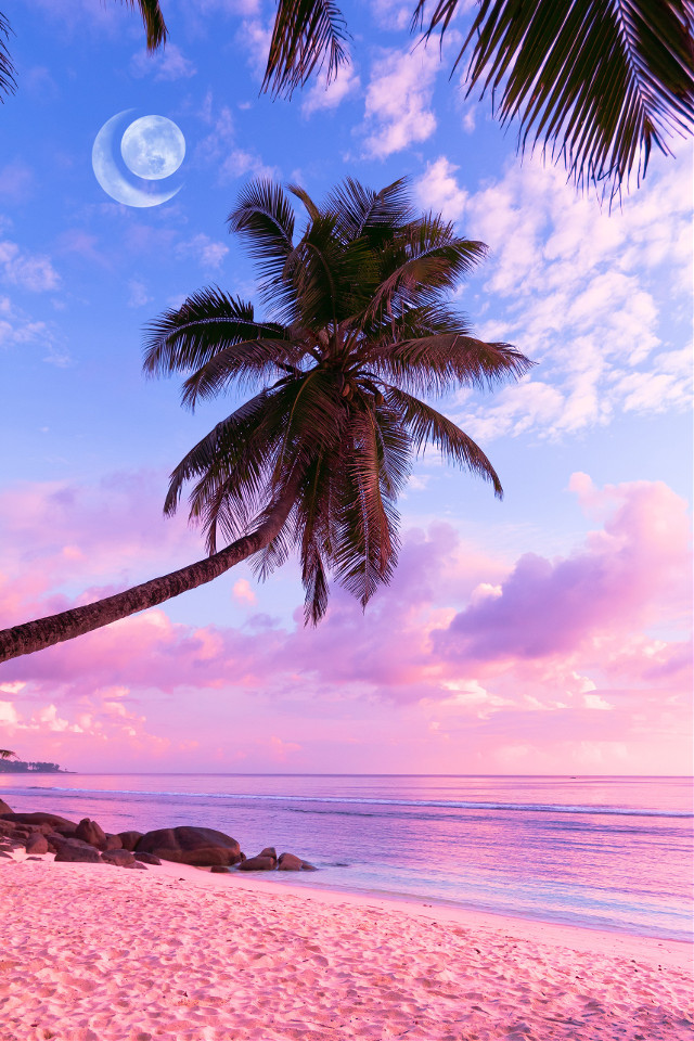 -ꜱᴜɴꜱᴇᴛ-    #background #shutterstock #aesthetic #freetoedit #pink #summer #remixme #picsart #remixit #moon
