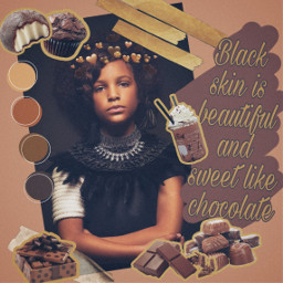 freetoedit africa black brown chocolate