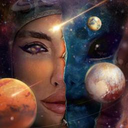 freetoedit galaxy alien space galactic ecspaceface spaceface