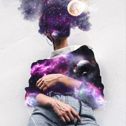 freetoedit space космос галактика galaxy