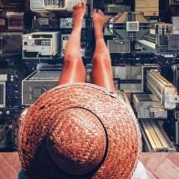 legs freetoedit buildings city woman