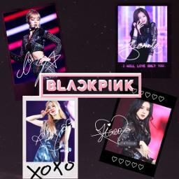 blackpink jisoo rose lisa jennie freetoedit