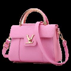 freetoedit purse sticker tote pink