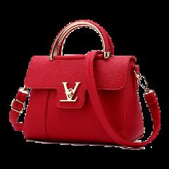 freetoedit red purse tote sticker