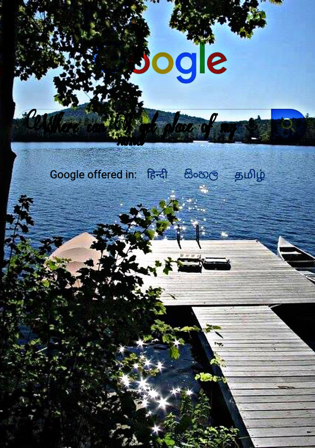#freetoedit #google #search #googlesearch #lake #sparkling #water #trees #boat #fun #beautiful #nature
