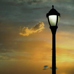 freetoedit outdoorphotography streetlights dramaticsky minimalism