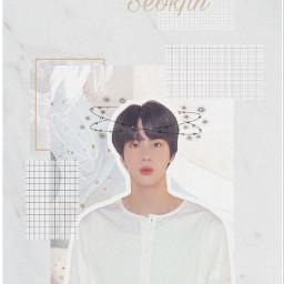 aesthetic white jin kim_seokjin bts freetoedit ecbackgroundchange backgroundchange