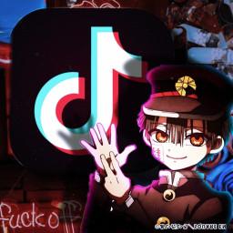 app icon anime hanakokun tiktok freetoedit